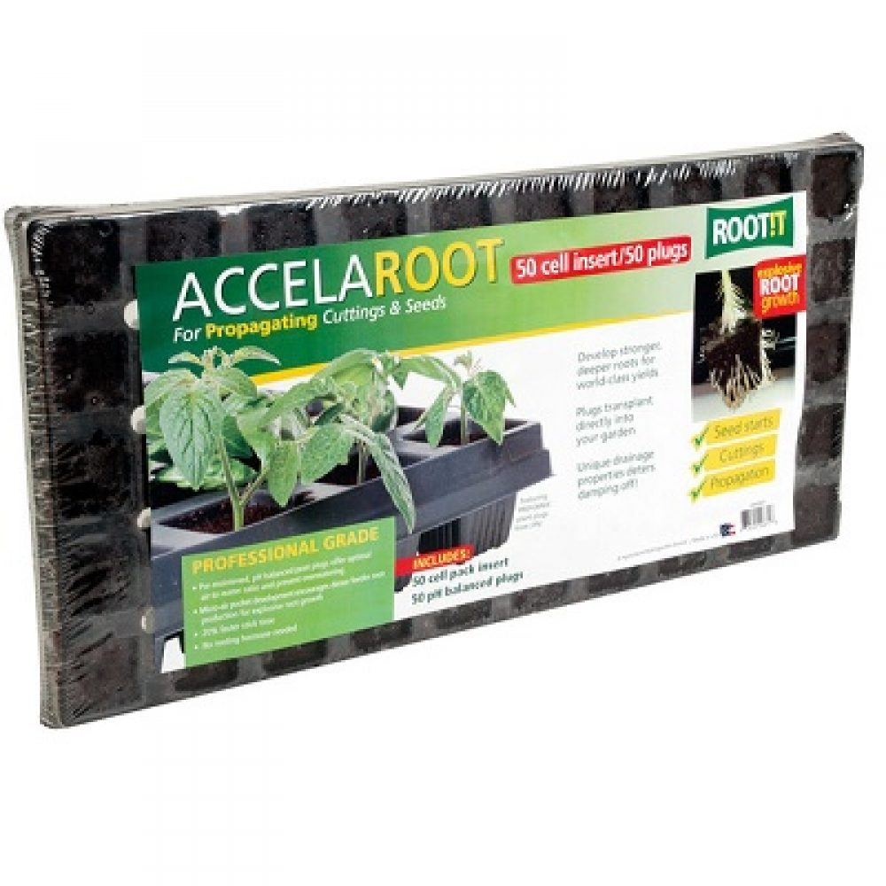 AccelaRoot Start Plugs w/50-cell Insert (no tray)