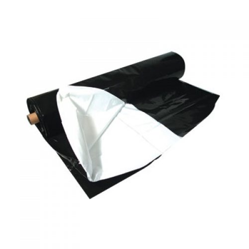 Black White Poly Roll