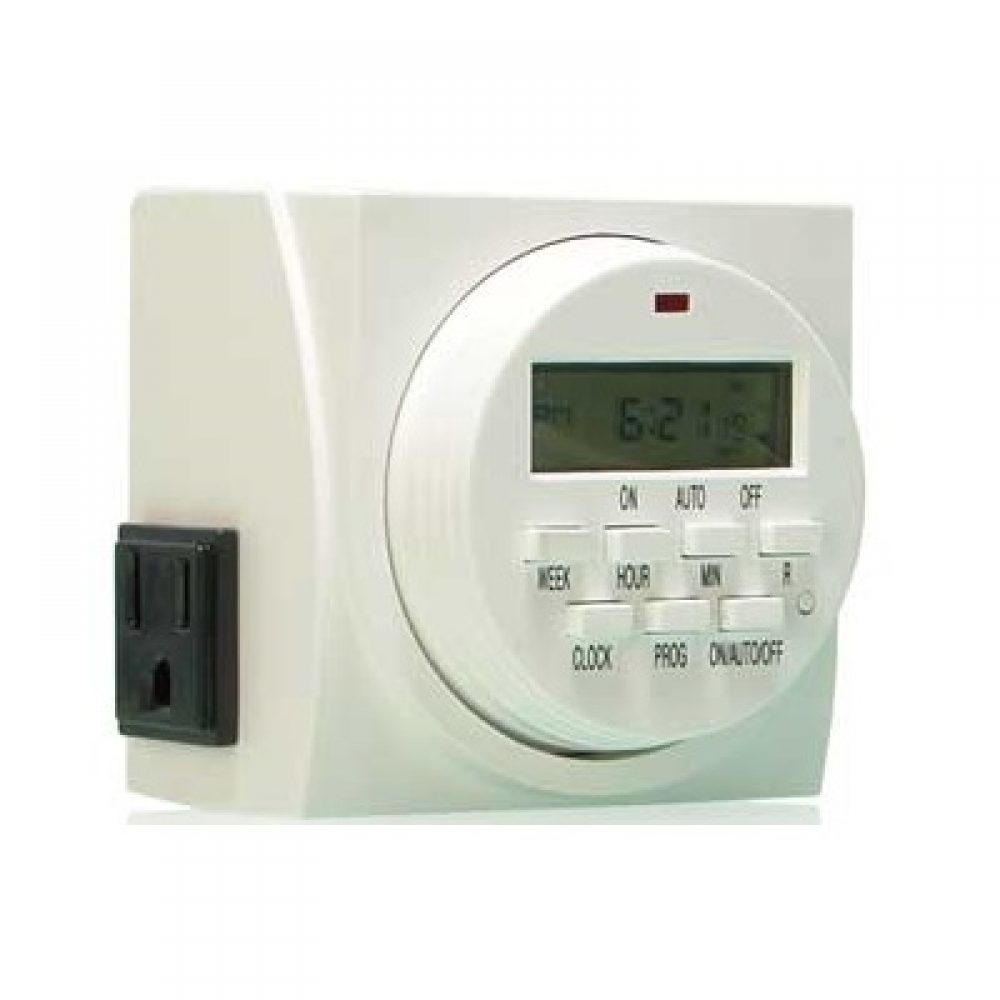 Dual Outlet Digital Timer
