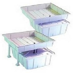 Ebb and Flow Tray System