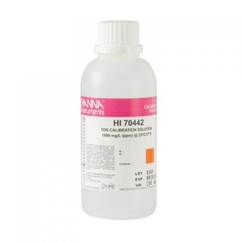 Hanna 1500 TDS Calibration Solution