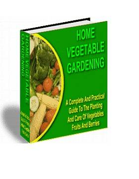 Home Vegetable Gardening Ebook